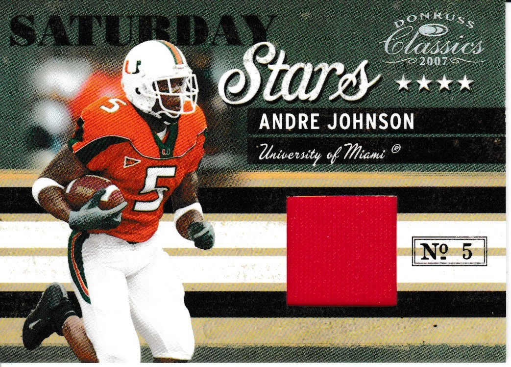 2007 Classics Saturday Stars Jsy /250