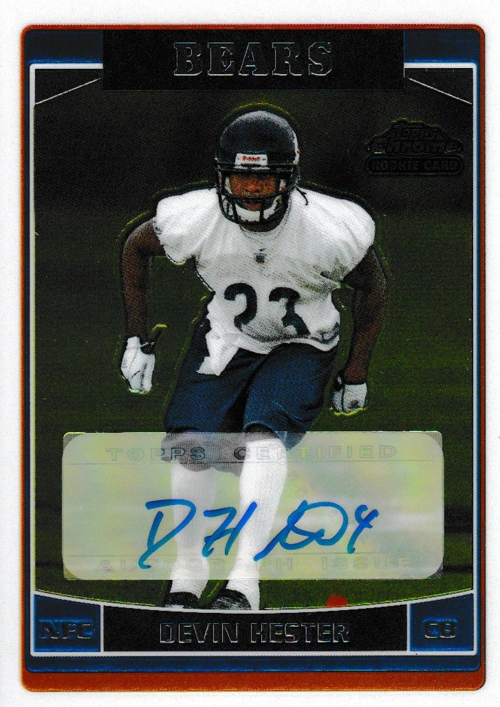 2006 Topps Chrome Rookie Auto