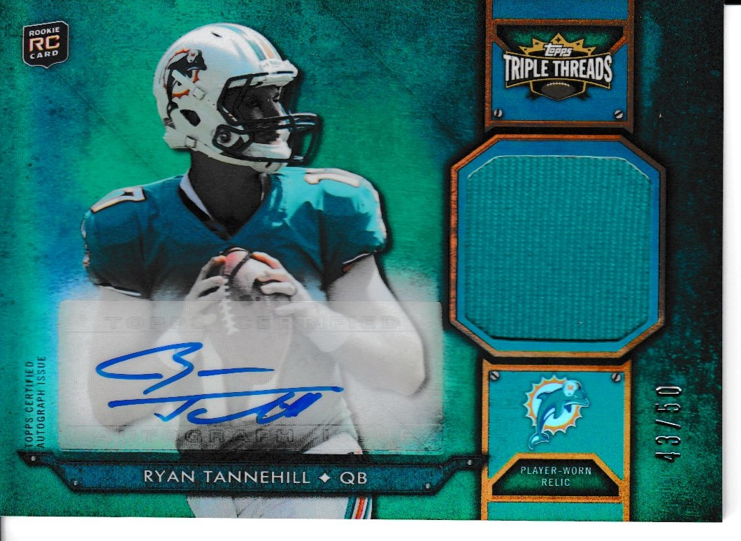 2012 Triple Threads Emerald Rookie Relic Jsy/Auto /50